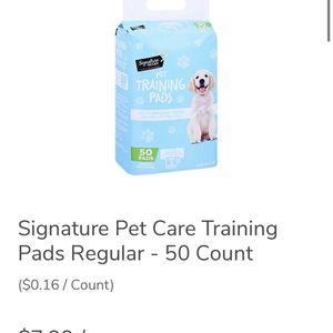 Pet Training Pads- 50 Ct ($5) for Sale in Salinas, CA