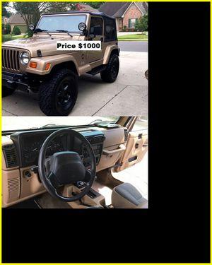 ֆ1OOO_1999 Jeep Wrengler for Sale in Vancouver, WA