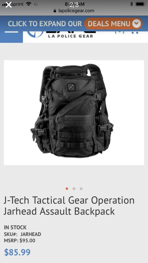 J tech tactical gear backpack for Sale in Clackamas, OR - OfferUp