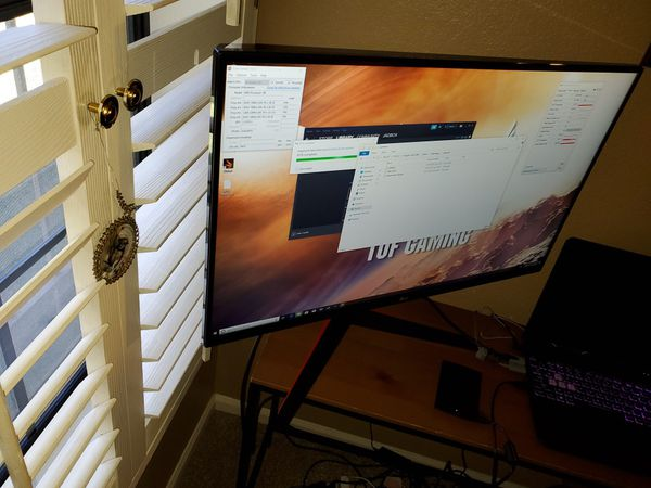 Lg 32 inch gaming monitor 144hz 2k 2560 by 1440