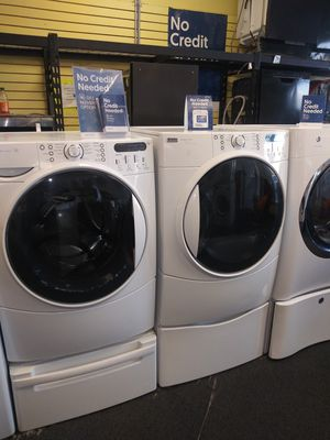 Kenmore electric front load set washer and dryer in exellent condition for Sale in Randallstown, MD