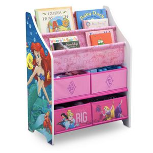 Disney Princess Book and Toy Organizer for Sale in Brookfield, IL