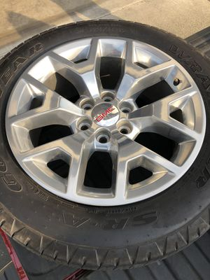 GMC Rims and tires for Sale in Spanaway, WA