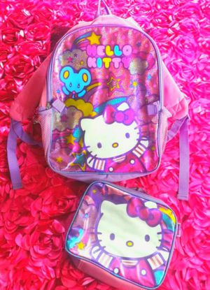 💖Girl's (HELLO KITTY) backpack & lunch bag!💖 for Sale in Los Angeles, CA