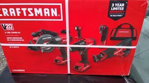 Craftsman power tools 6 piece set for Sale in Gresham, OR