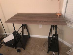 Wooden office desk for Sale in Gaithersburg, MD