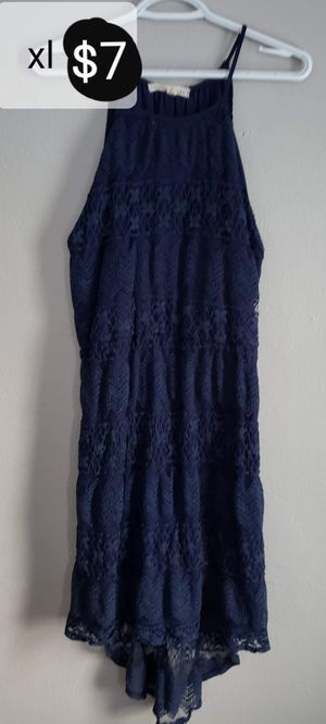 Women's xl navy blue lace dress for Sale in Toledo, OH