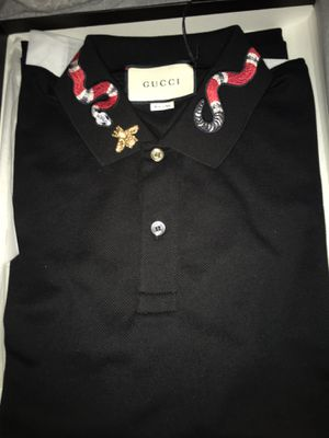 2018 Cotton Polo With King Snake Embroidery for Sale in Phoenix, AZ