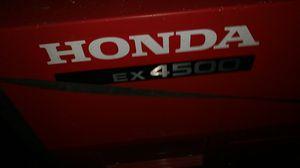 Honda ex 4500 generator for Sale in Seattle, WA