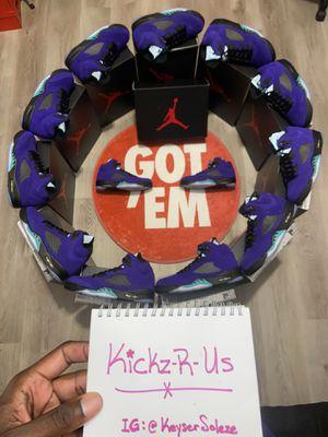 """Air Jordan 5 """"Alternate Grapes"""" sz 12/12.5/13 for Sale in Atlanta, GA"""