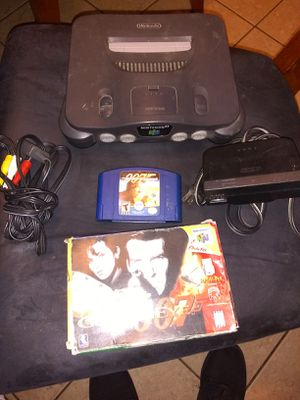 N64 console with/1controller/2games for Sale in Escondido, CA