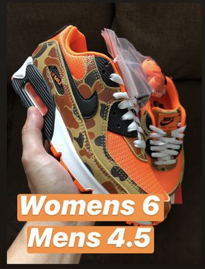 Nike Air Max 90 Camo Orange - Womens 6 Koreatown for Sale in Los Angeles, CA