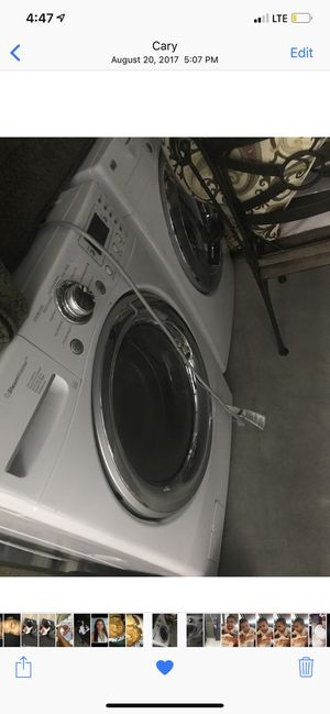 Lg front facing washer and dryer for Sale in Cary, NC