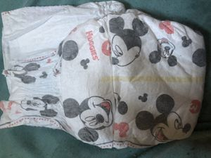 Huggies pampers size 3 with Minnie Mouse for Sale in Columbus, OH