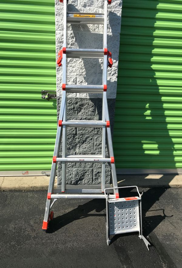 Little Giant A10364 with work platform