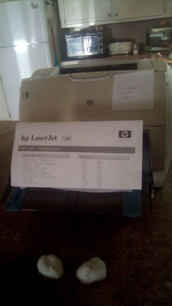 Hp laser printer 1300