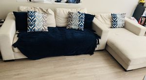 Three seater sofa and Oversized Chaise on Sale for Sale in Buffalo, NY