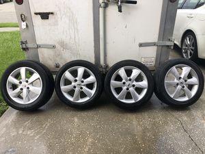 Nissan versa 4 lug 16' rims in good shape for Sale in Kissimmee, FL