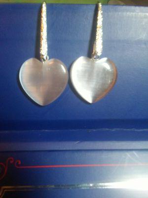 Cat's Eye Heart Drop Earrings for Sale in Phoenix, AZ