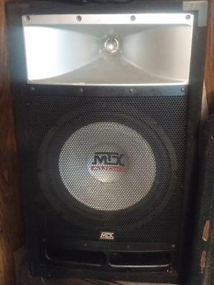 Mtx tp112 big DJ speaker w/ tweeter horn for Sale in Rolla, MO