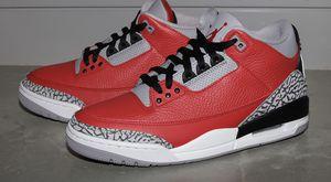 Jordan 3 red cement size 9 for Sale in Elkton, VA