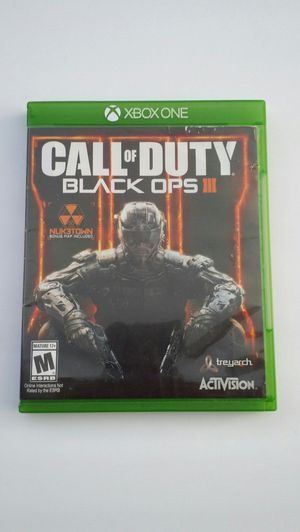 Call Of Duty Black Ops 3 (Microsoft Xbox One) Pre-owned Look for Sale in Modesto, CA