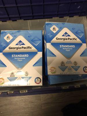8 packs paper 500 sheets for Sale in Oceanside, CA