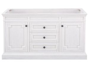 Home Decorators Collection Cailla 60 in. W x 21.50 in. D Bath Vanity Cabinet Only in White Wash for Sale in Industry, CA