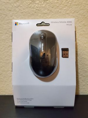 Microsoft Wireless Mouse - Mobile 4000 for Sale in San Diego, CA