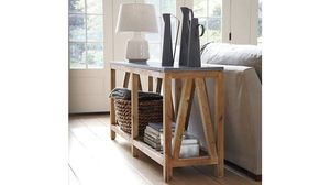 Crate and barrel Bluestone Console Table for Sale in New York, NY