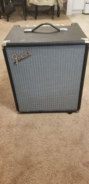 Fender Rumbler 100 bass amp for Sale in Everett, WA