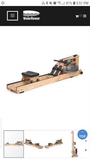 how much you qualify for WATERROWER NATURAL ROWING MACHINE WITH S4 MONITOR for Sale in San Francisco, CA