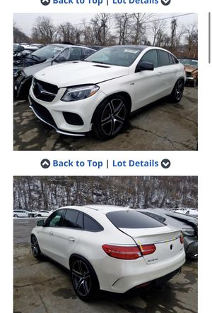 2017 Mercedes GLE 43 AMG Coupe Parts for Sale in Burbank, CA