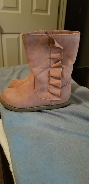 Girls sz 11 Pink Boots for Sale in Smyrna, GA