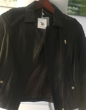 Jacket U.S. POIO ASSN. Natural soft leather,the best. Brand New. Only small size $285.00 for Sale in North Miami, FL
