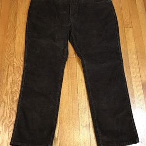 LL Bean Comfort Waist Mens 44X32 Otter Brown Corduroy Pants New without tags for Sale in French Creek, WV