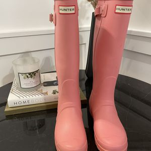 Hunter Womens Rain Boots - Size 7 for Sale in Rahway, NJ