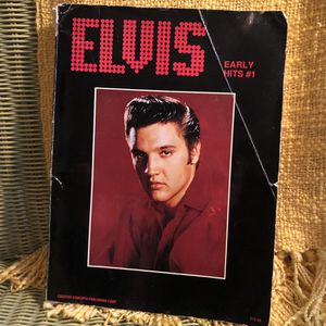 Elvis Early Hits Song And Photo Book for Sale in Visalia, CA