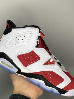 """Jordan 6 Retro """"Carmine"""" GS Sizes: 4-6.5Y/Women Sizes: 6-8 for Sale in Berwyn,  IL"""