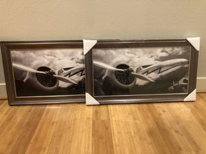 Two Matching Frames for Sale in Seattle, WA
