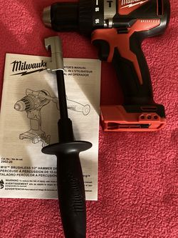 "Milwaukee . M18 Lithium Ion 2-Speed 1/2"" Brushless Hammer Drill Driver (Tool Only ). 2902-20. for Sale in Brooklyn,  NY"