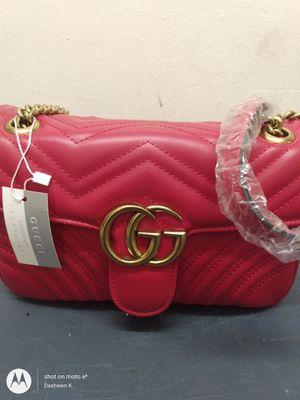 GUCCI Marmot medium shoulder bag, red for Sale in Brooklyn, NY