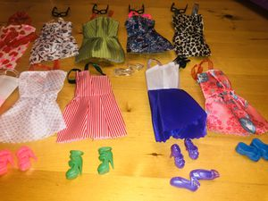 Large bundle New Barbie clothes w/ for Sale in Fairburn, GA