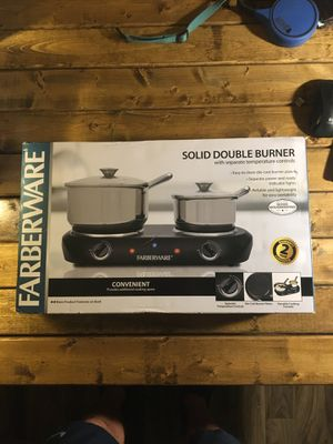 Farberware Electric Double Burner BRAND NEW IN BOX for Sale in Golden, CO