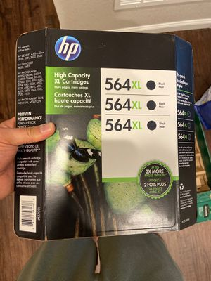 3x HP 564xl hp ink cartridges BRAND NEW 3 of them for Sale in Aurora, CO
