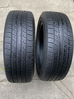 2 tires 215/60/17 Bfgoodrich for Sale in Bakersfield,  CA