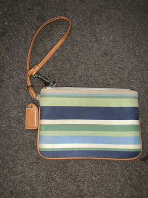 Coach wristlet for Sale in Westerville, OH