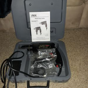 Skil Classic 6360 Corded Drill 4.5 A 0-800 RPM Pistol Grip for Sale in Medford, OR