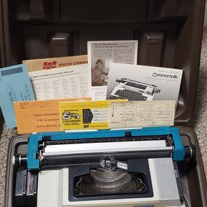 Smith Corona Coronamatic electric portable typewriter 2200 for Sale in Everett, WA