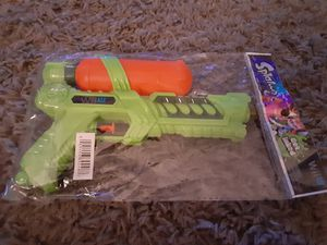 Splatoon Water Squirt Gun Promotional Item Target Exclusive Nintendo Wii U Rare for Sale in Fresno, CA
